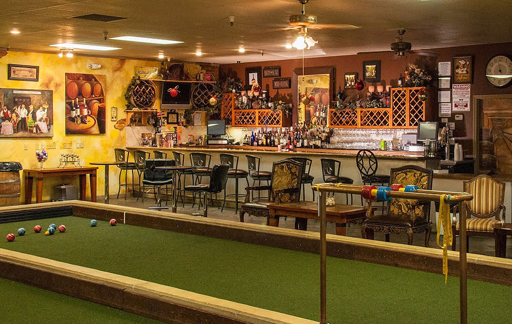 Troy's Bocce Ball Room